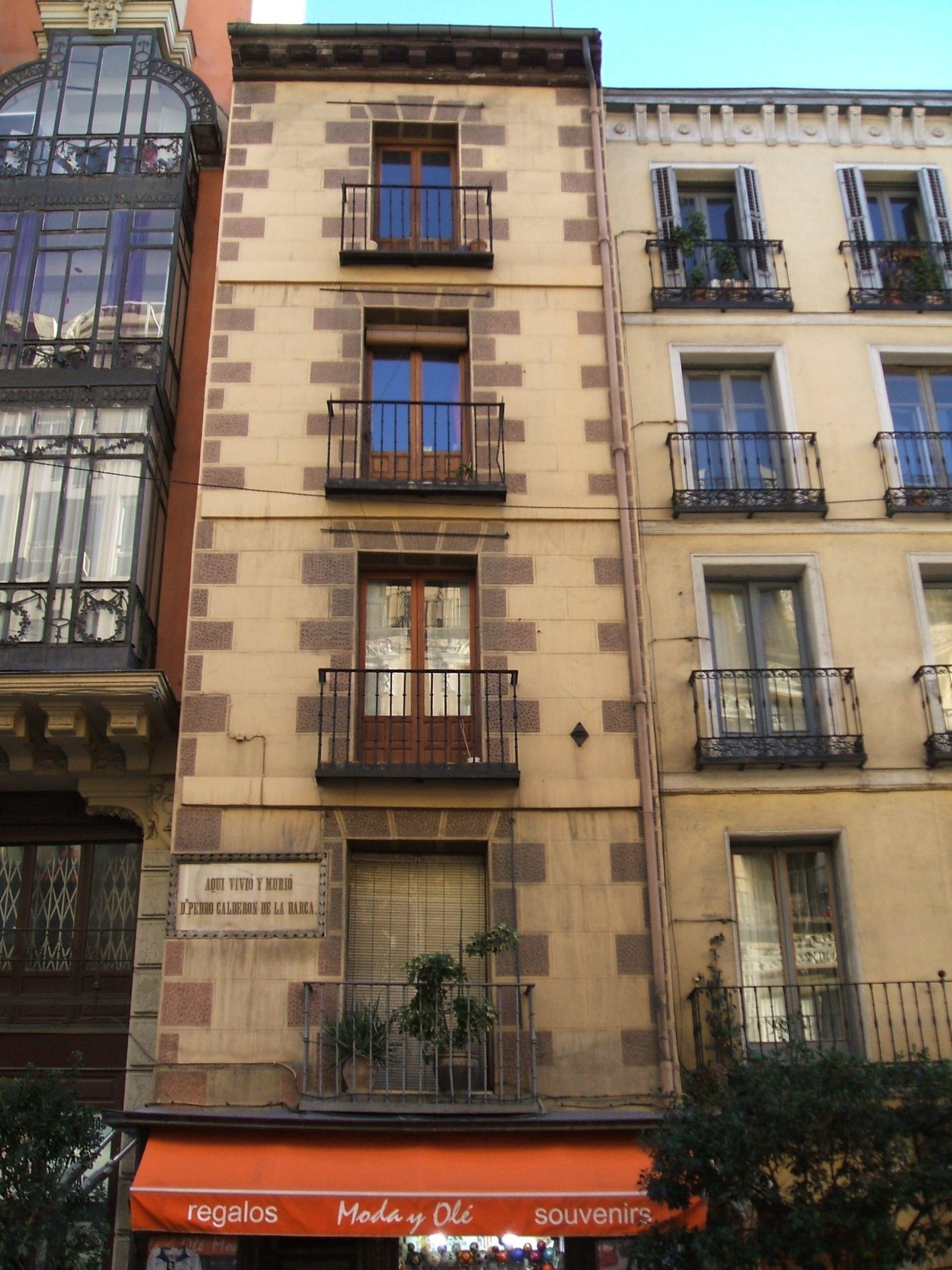 Casa Calderon de la Barca Fachada, Madrid