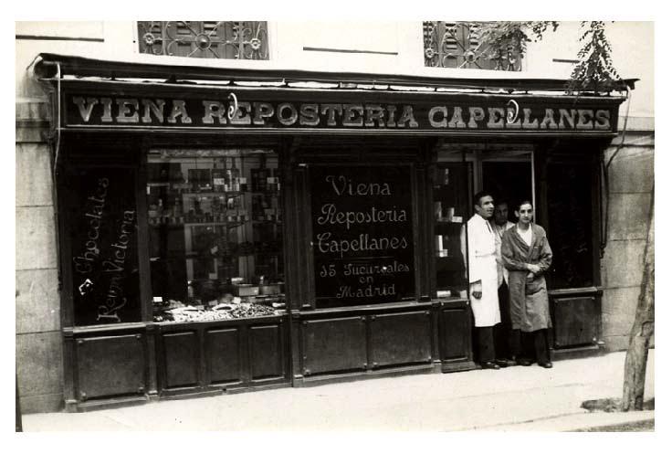 Los primeros escaparates de Madrid