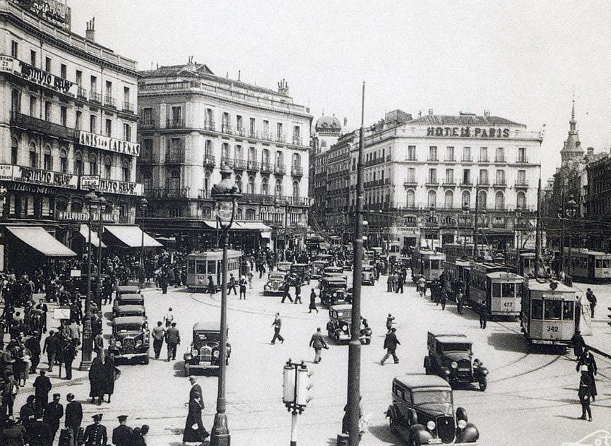 Puerta del Sol, 1935