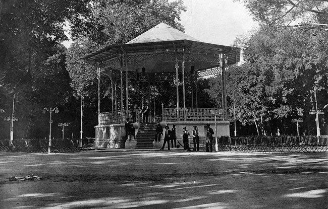 La foto de la semana: Kiosco del Retiro (1910)