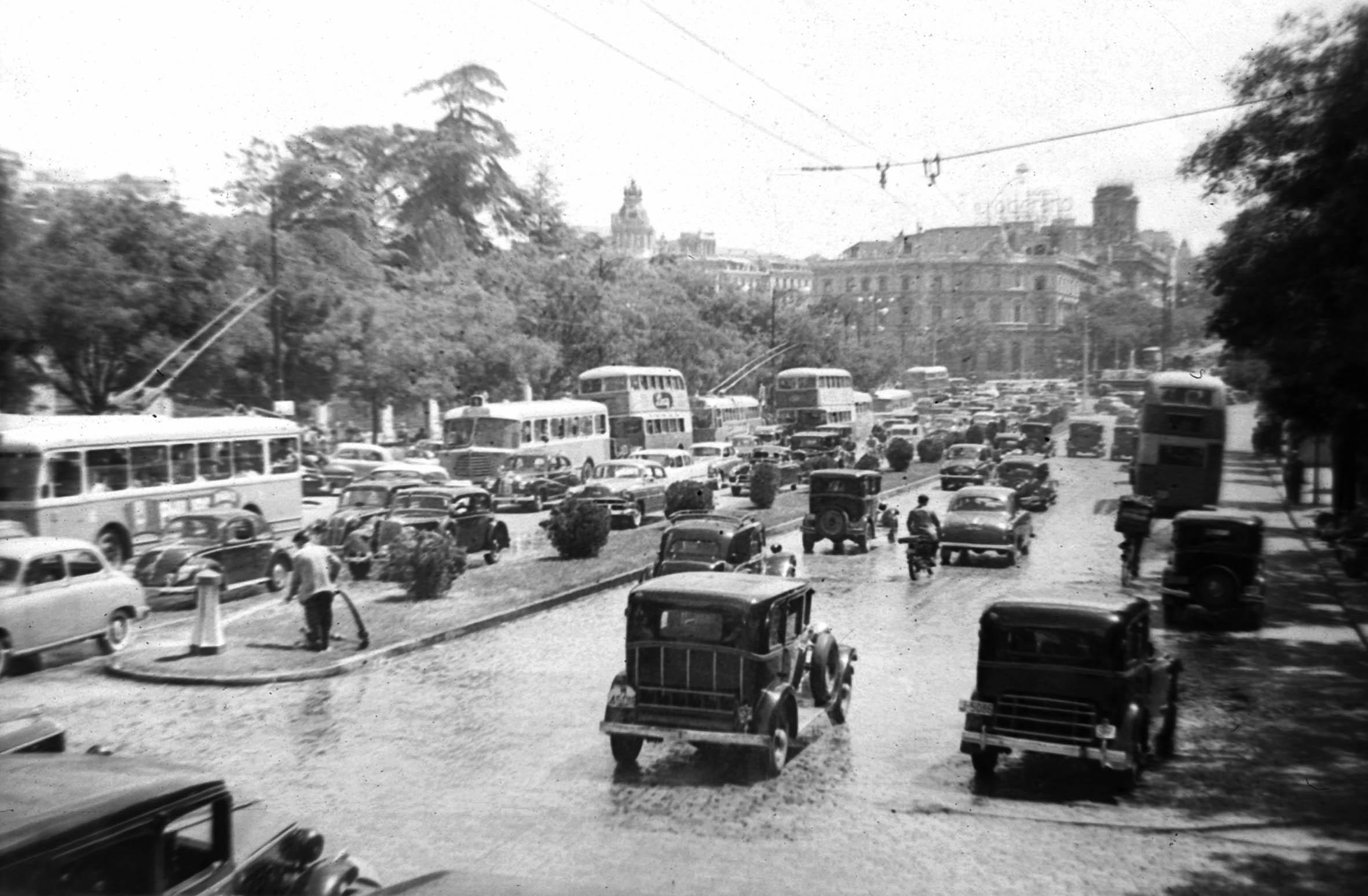 Calle Alcalá 1955