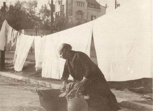La foto de la semana: Lavadero improvisado