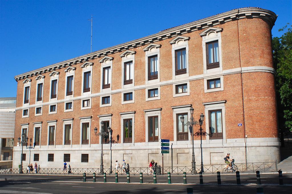 Fachada del Palacio de Godoy, Madrid