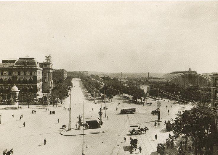 La foto de la semana: Puerta de Atocha. Finales años 20