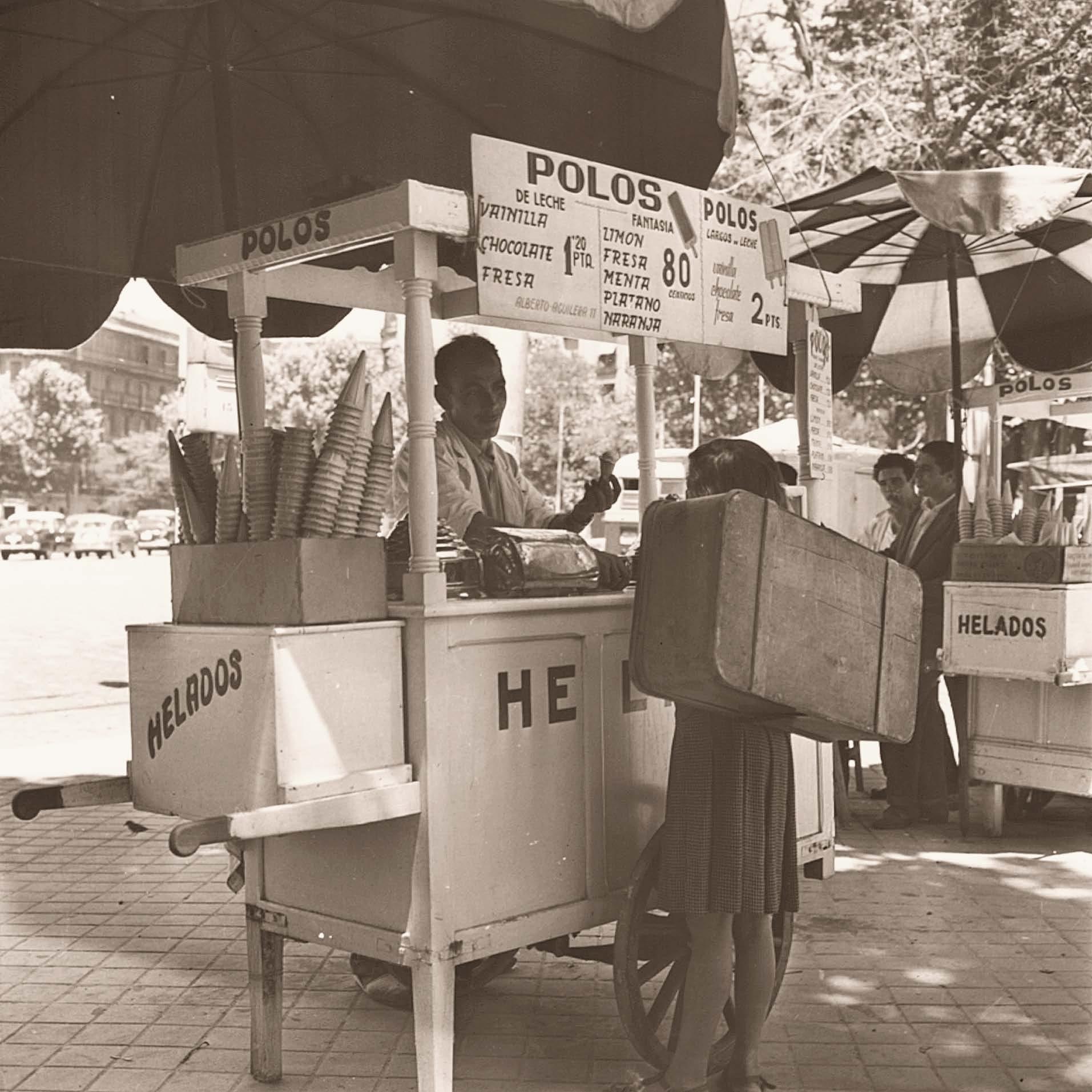 La foto de la semana: Carrito de Helados (1959)