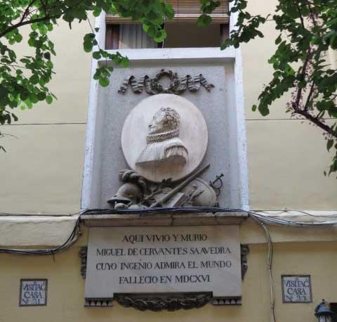 Las casas de Cervantes