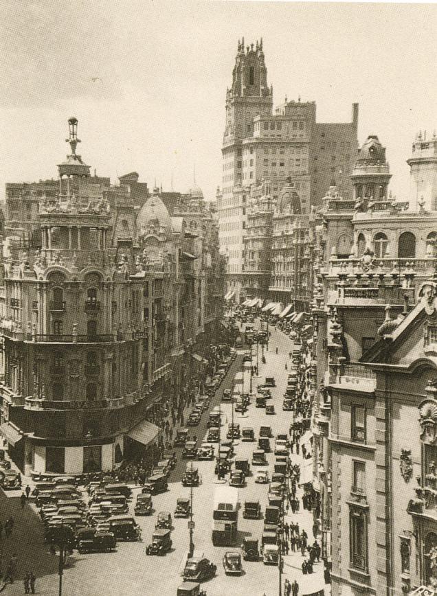 La foto de la semana: Gran Vía, 1935