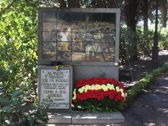 Libro Cementerio de la Florida, Madrid