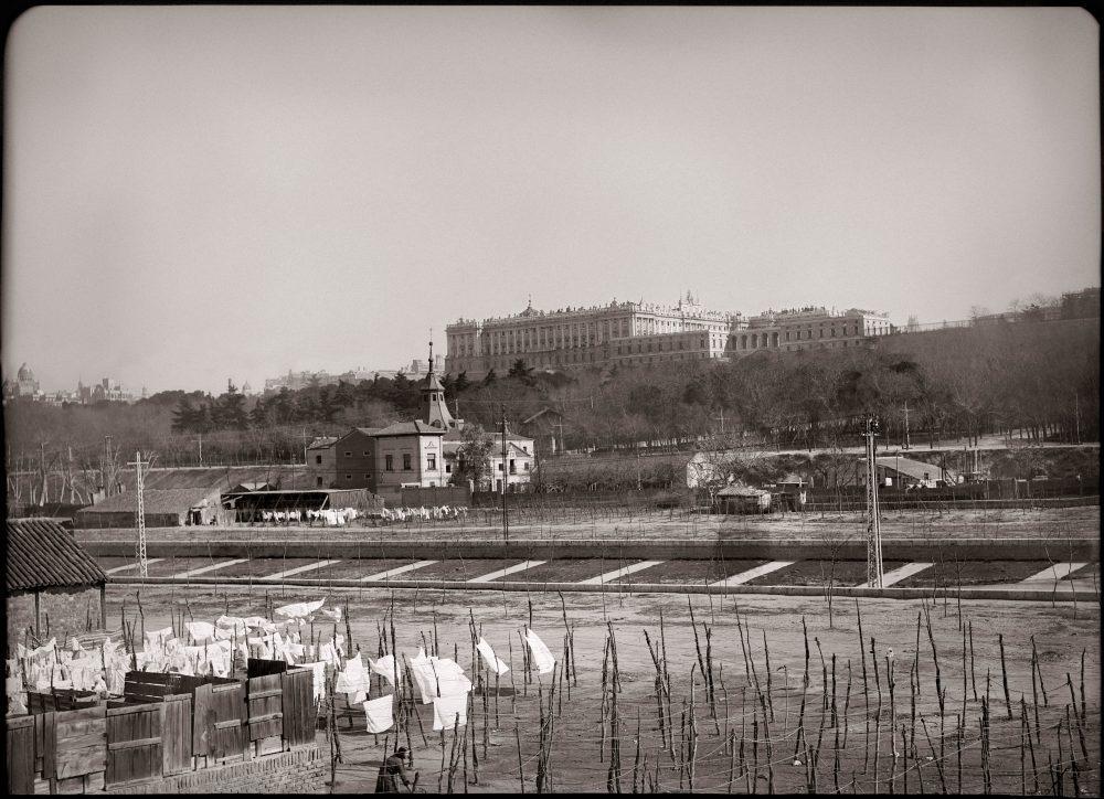 La foto de a semana: Ribera del Manzanares (1930)