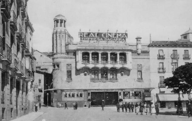 La foto de la semana de Madrid: Cine Real Cinema