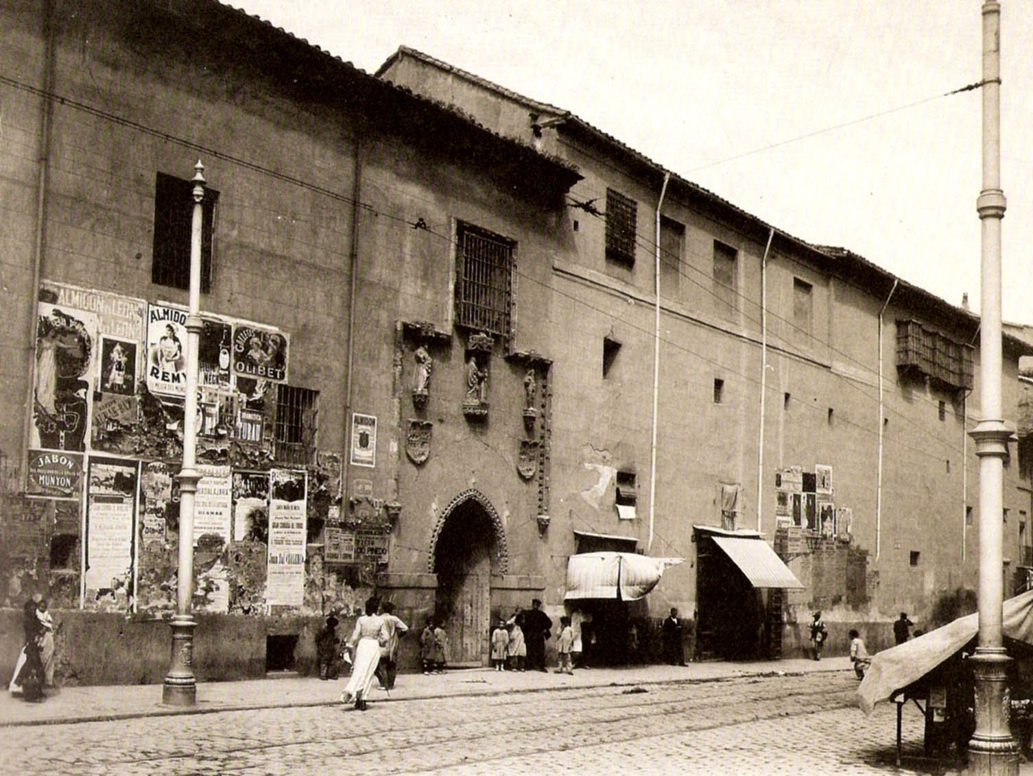 Hospital de La Latina, finales del siglo XIX