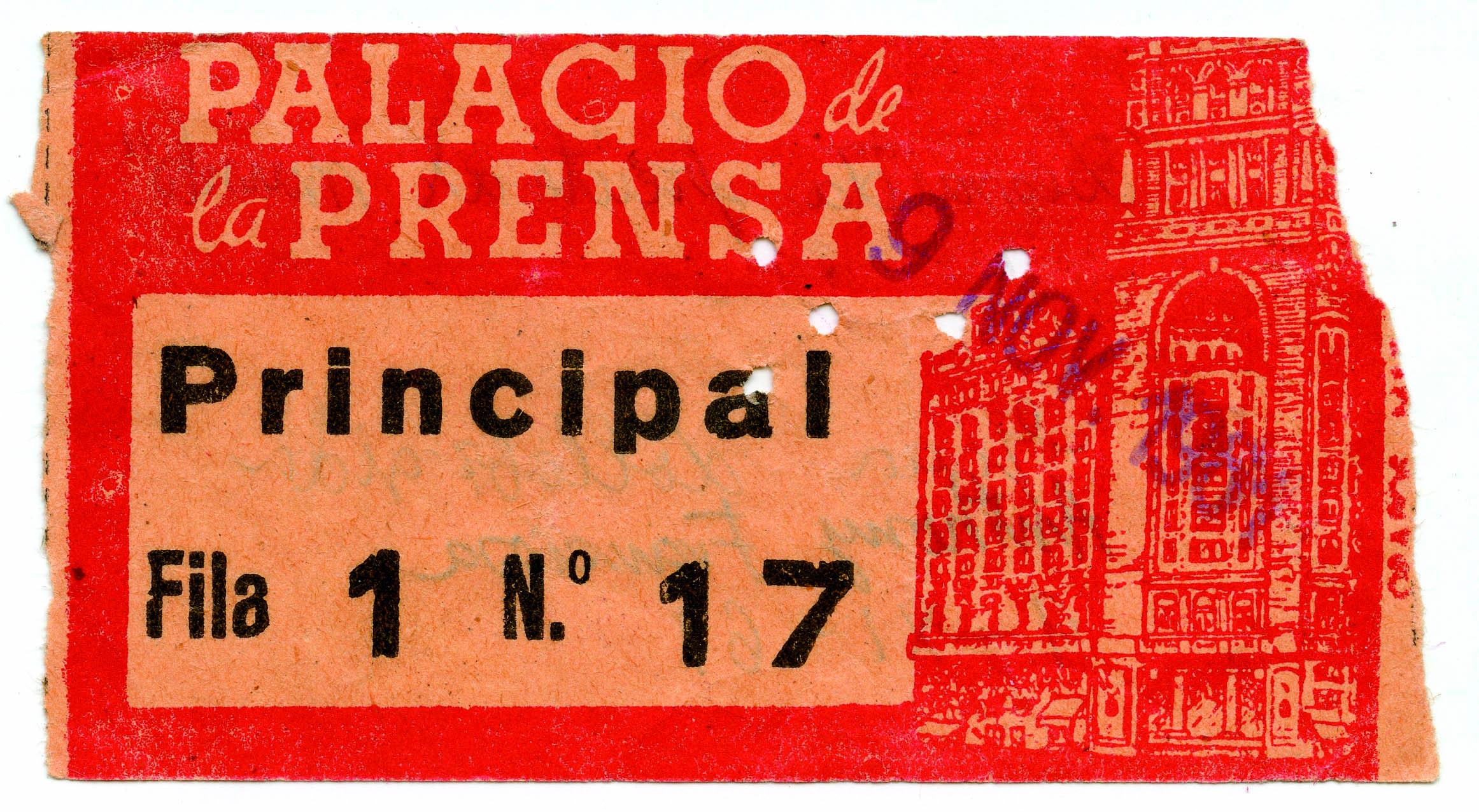 El Cine del Palacio de la Prensa