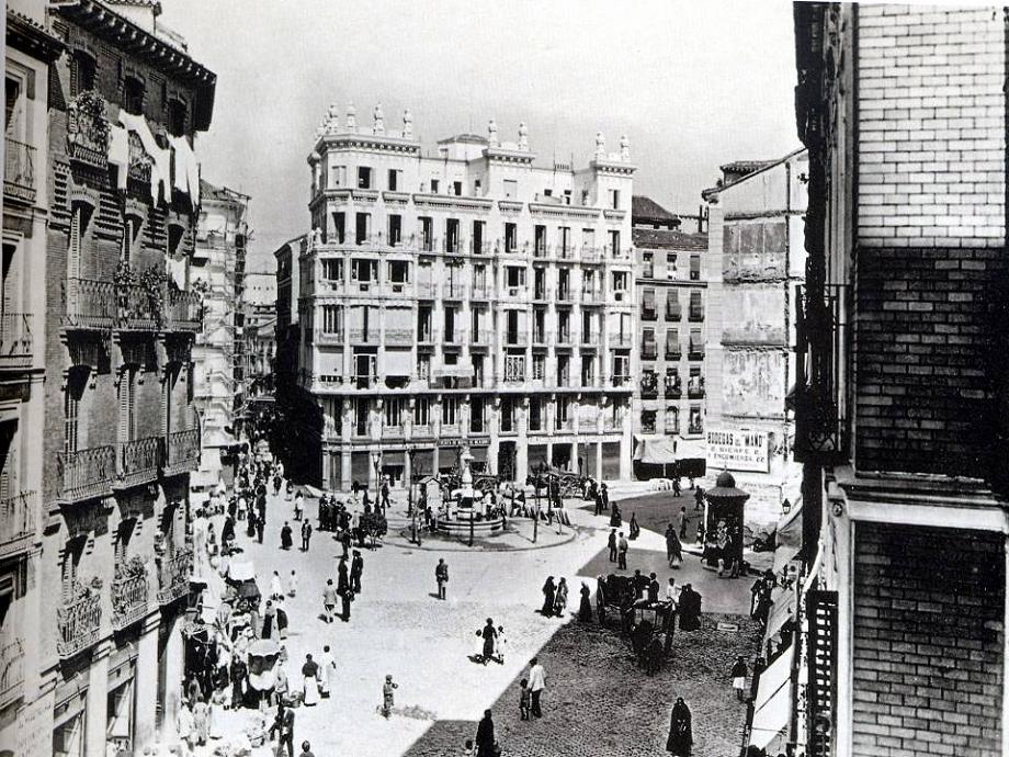 Foto de la semana: Plaza de Cascorro. 1920