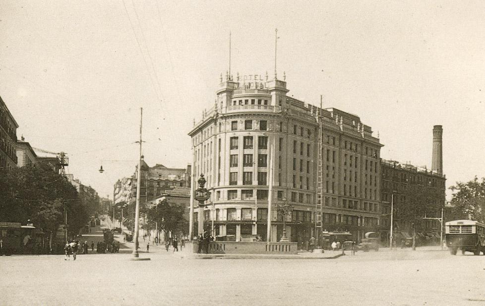 La foto de la semana: Glorieta de Atocha, años 30.