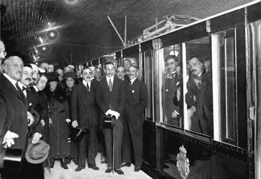 Así fue el primer día del Metro de Madrid