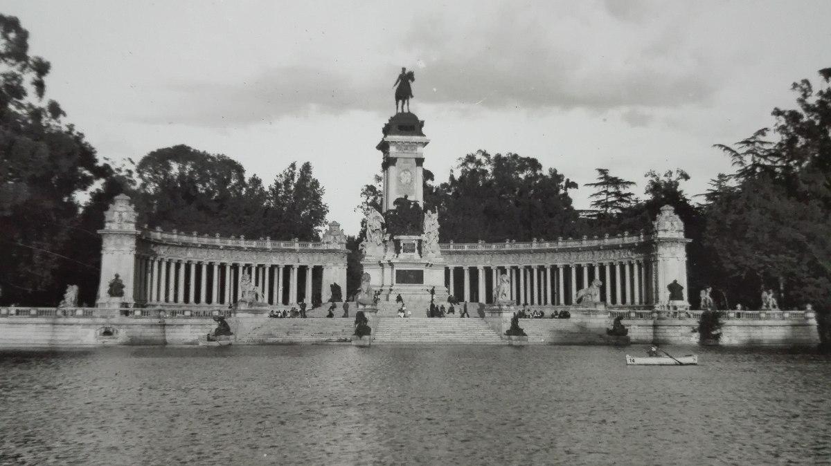 El estanque del Parque del Retiro