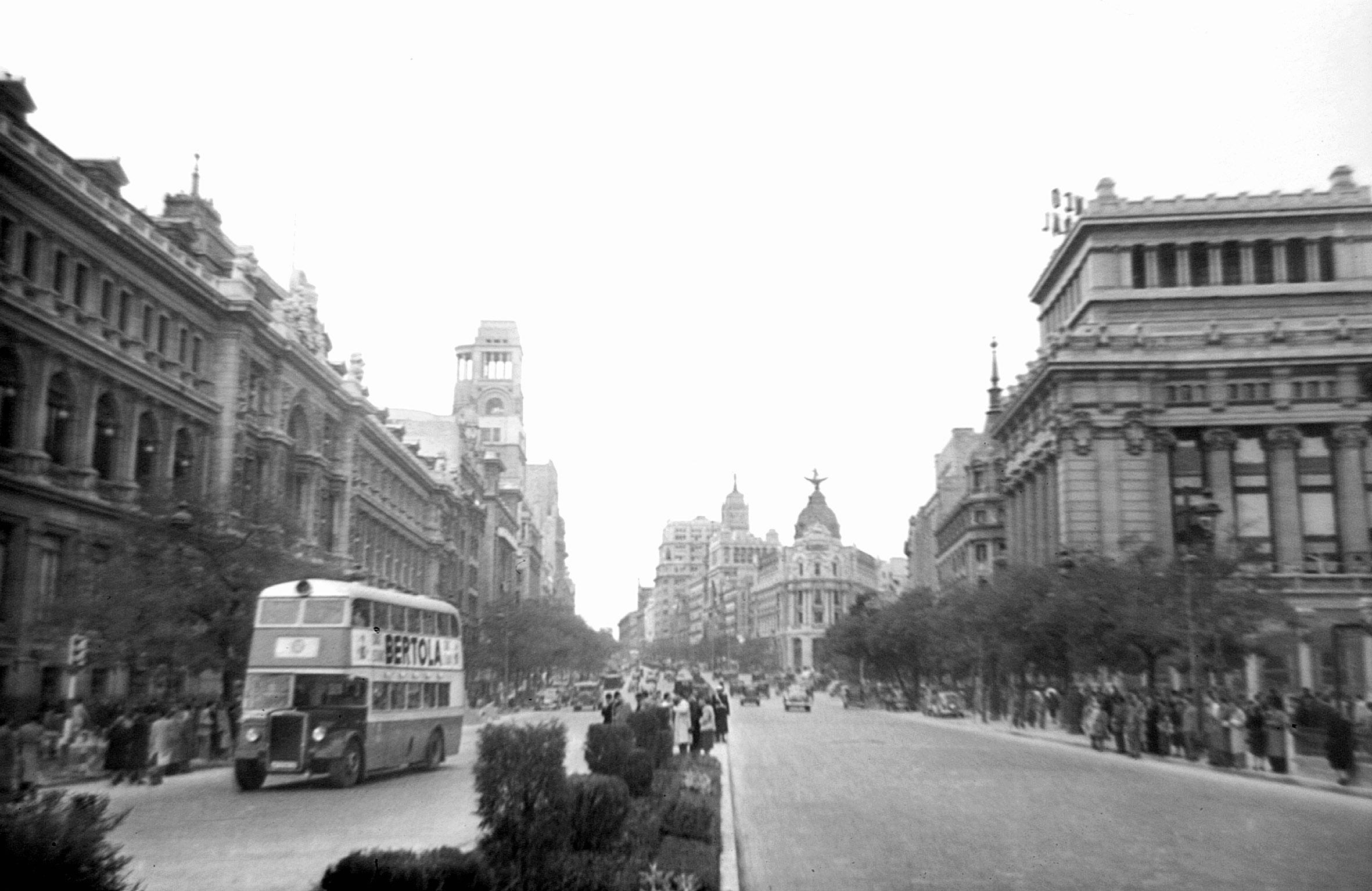 Calle de Alcalá, 1949