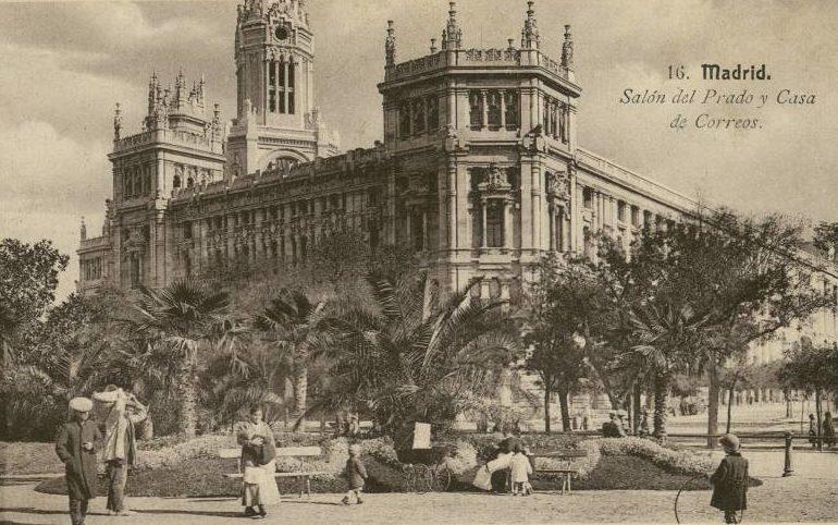 La foto de la semana: Salón del Prado y Casa de Correos