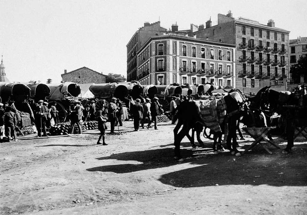 La foto de la semana: plaza de las vistillas (1930)