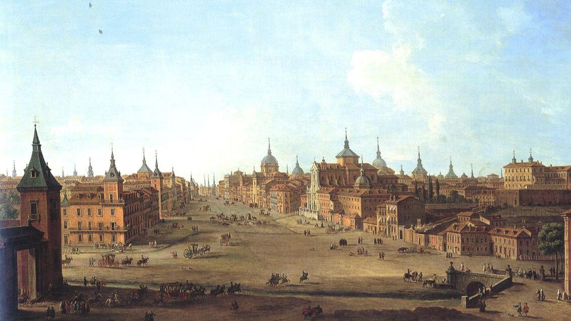 Los primeros 'turistas' en madrid